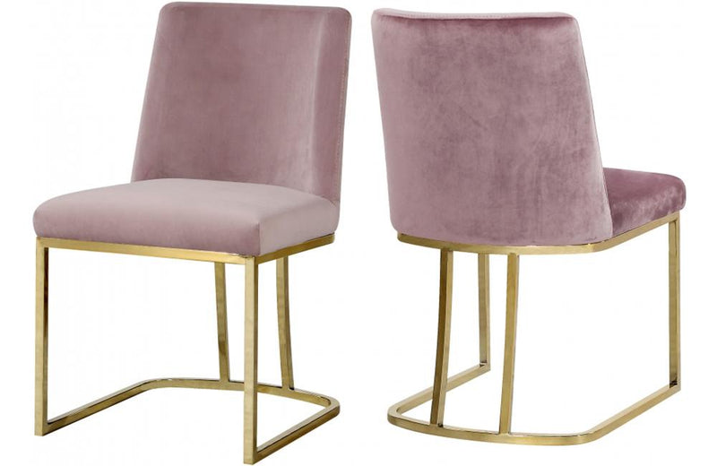 Henrique Pink Dining Chair