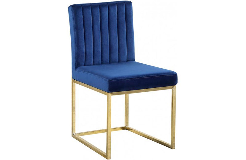Jorge Navy Dining Chair