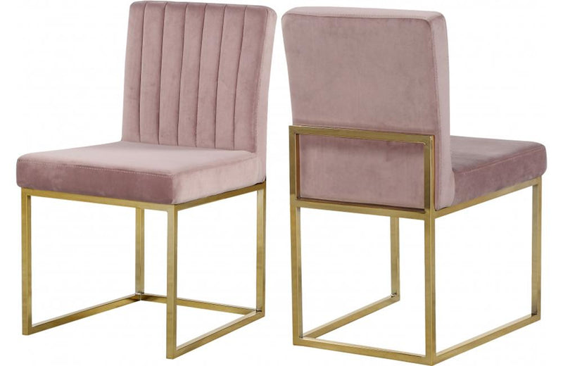 Jorge Pink Dining Chair