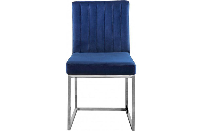 Pedro Navy Dining Chair