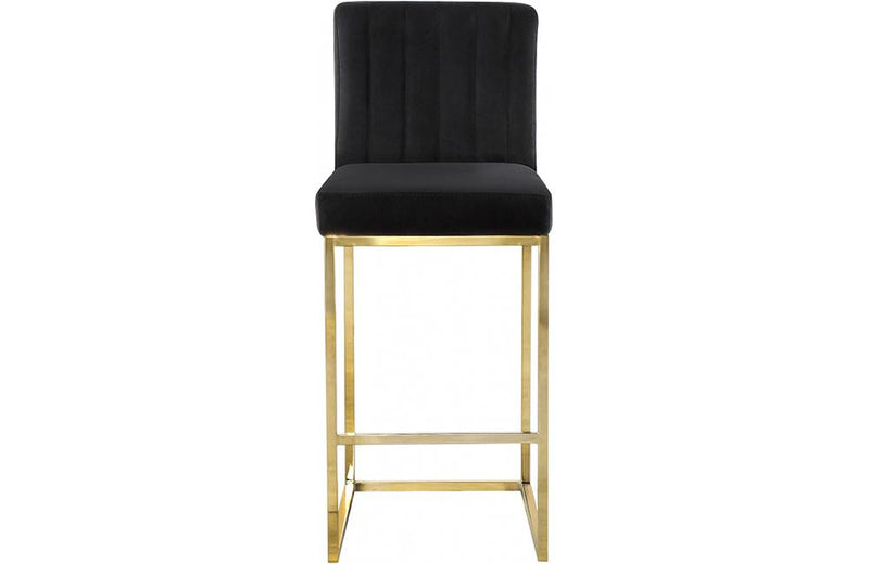 Abrienne Black Bar Stool