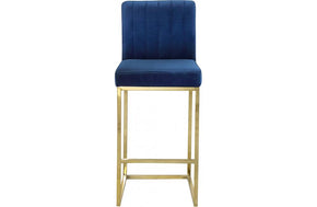 Abrienne Navy Bar Stool