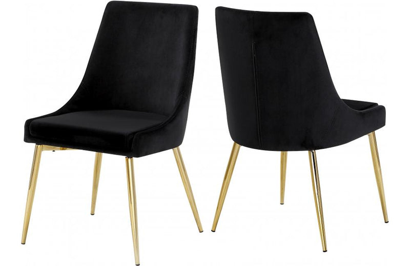 Rosario Black Dining Chair