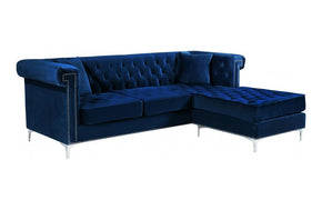 Mason Navy Sectional Sofa