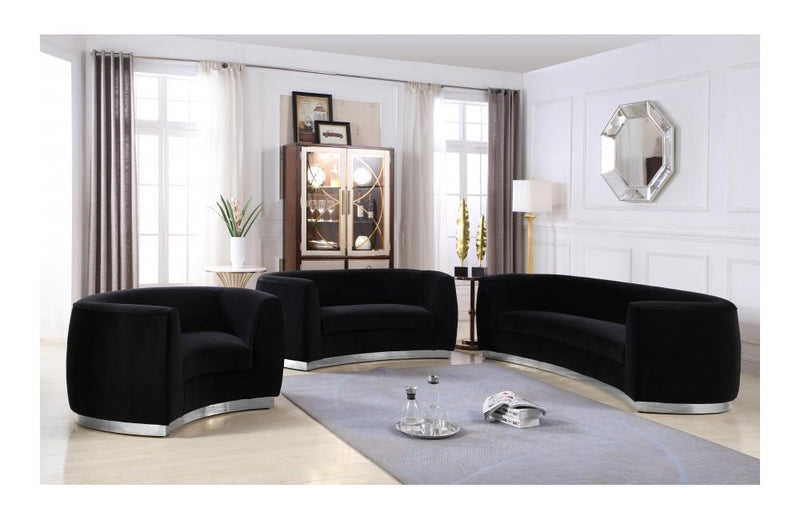 Babe Black sofa set