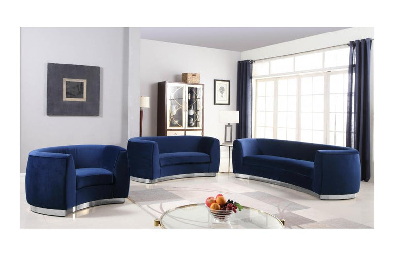 Babe Navy sofa set