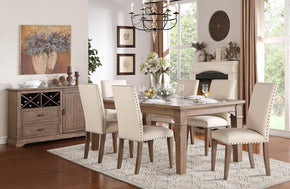 Albertino 8 PC Dining Set