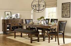 Wagner 7 PC Dining Set