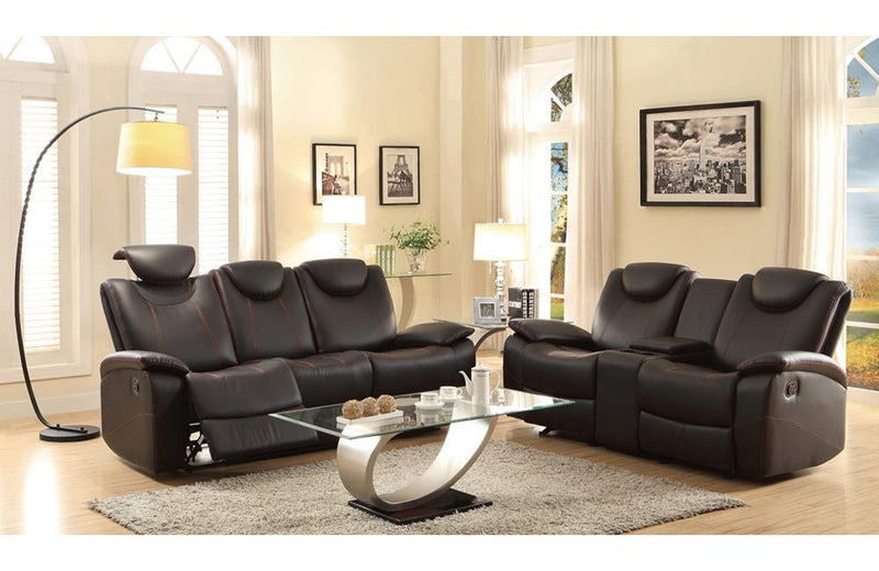 Ascari Black Sofa Set