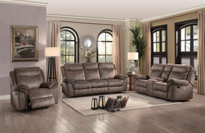 Robert Beige Reclining Sofa Set