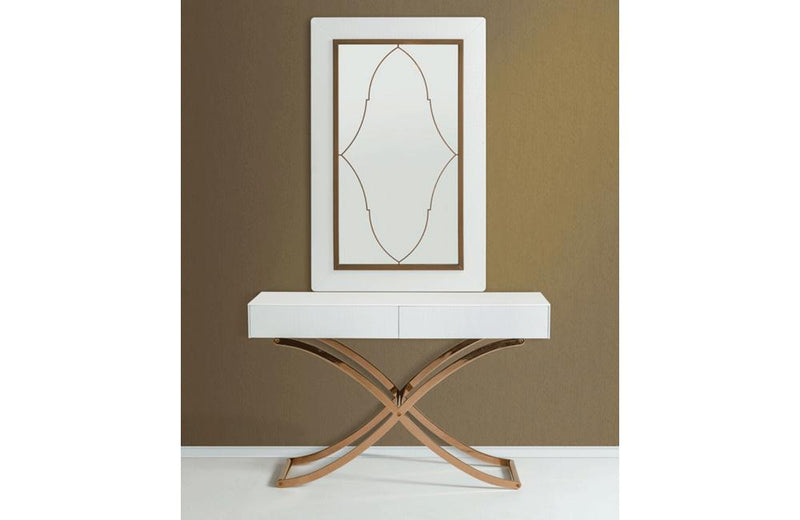 Aversa Console Table with Mirror