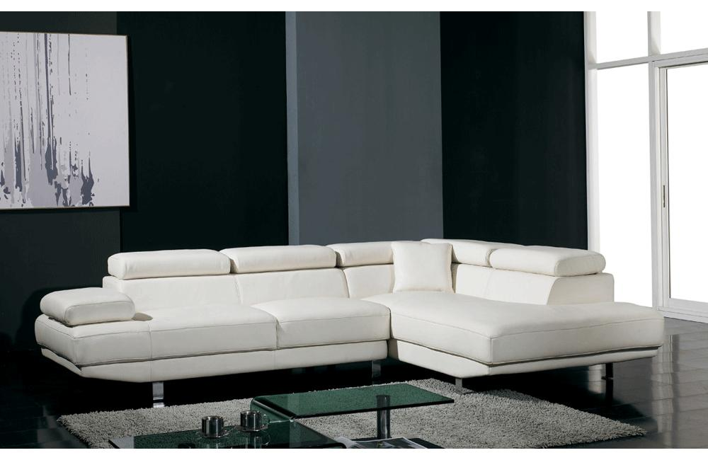 T60 Modern Leather Sectional Sofa