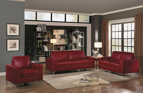 Jango Red sofa set