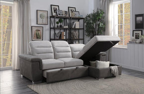 Sandy Sectional Sofa with Sleeper