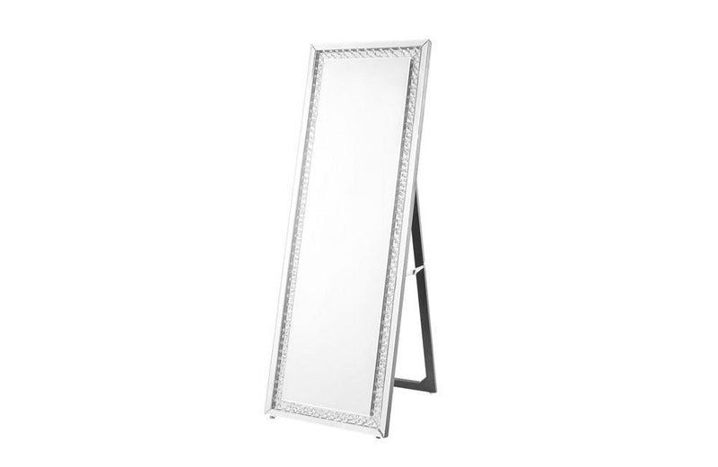 Contemporary Standing Full length Mirror in Clear