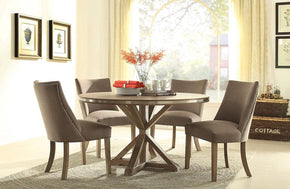 Cartier Round 5 PC Dining Set