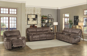 Gordon Brown Fabric Reclining Sofa Set
