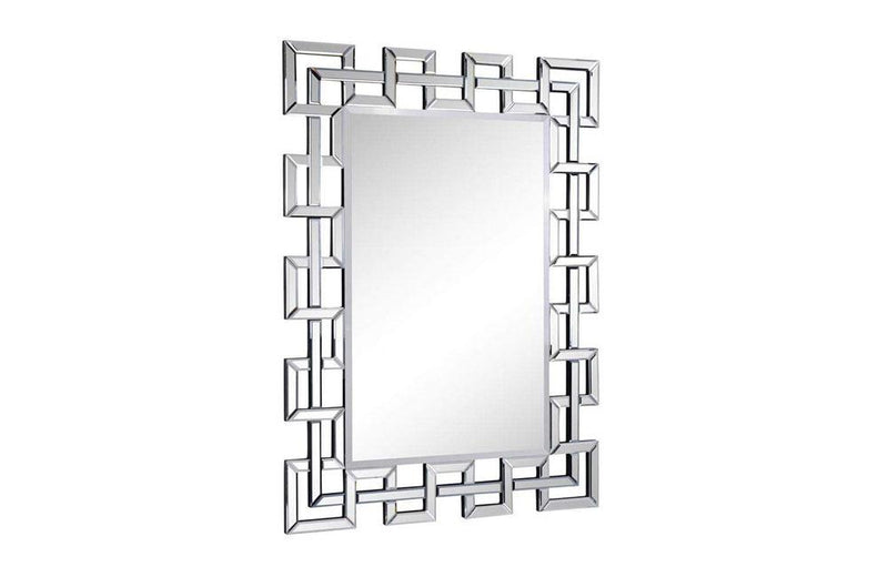 Contemporary Mirror in Clear Finish
