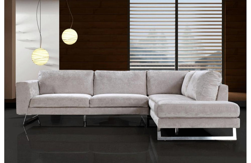Grady Modern Fabric Sectional Sofa
