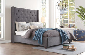 Zenna Gray Bed