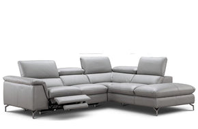 Alessandra Premium Leather Sectional Sofa
