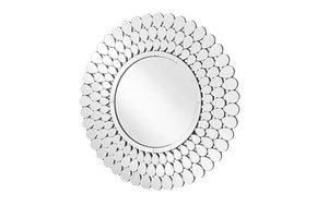 Round Wall Mirror in Clear