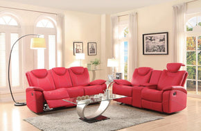 Ascari Red Sofa Set