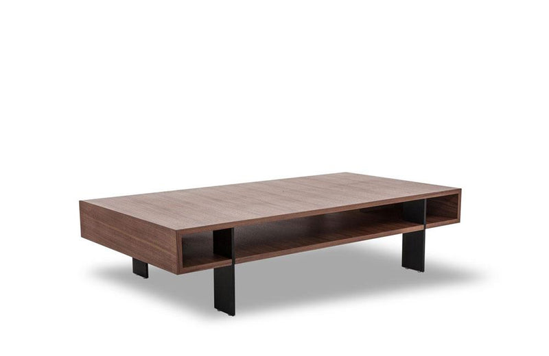Stilt Modern Walnut Coffee Table