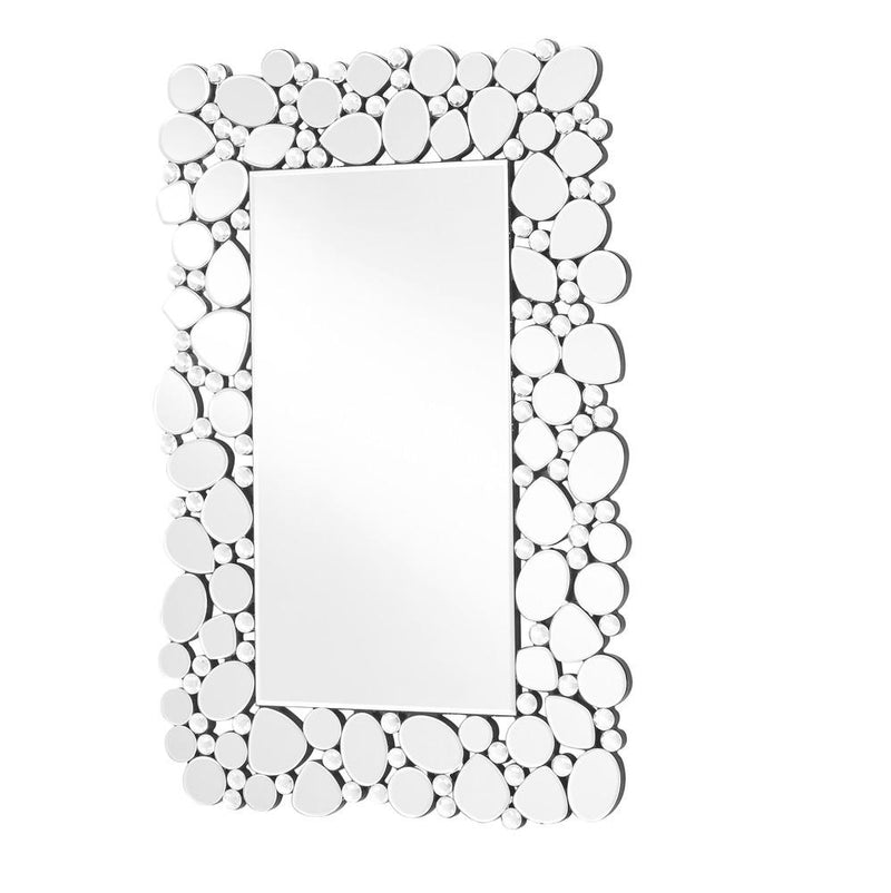 Contemporary Mirror in Clear Rectangle