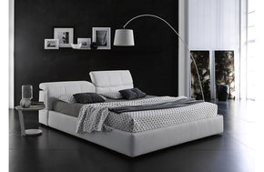 Aniya Storage Bed White