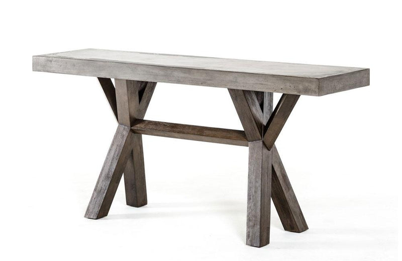 Urban Concrete Console Table