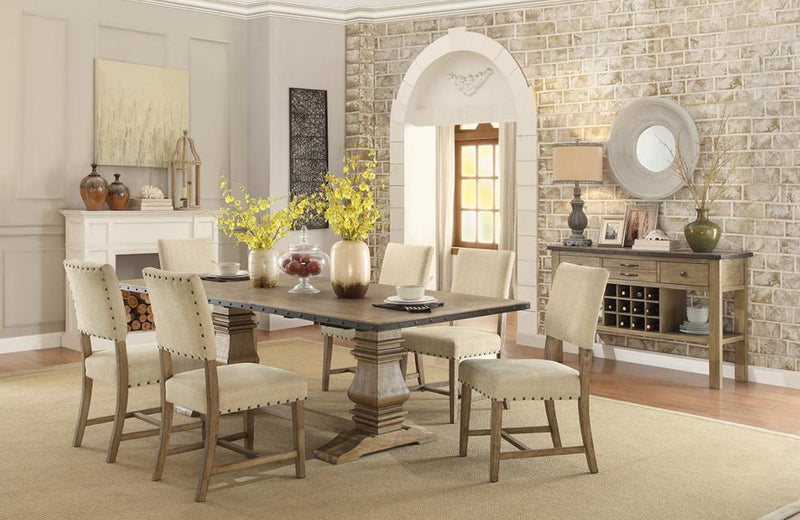Hansen 8 PC Dining Set
