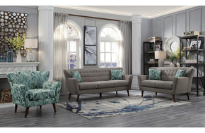 Rory Gray Sofa Set