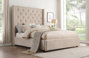 Zenna Beige Bed