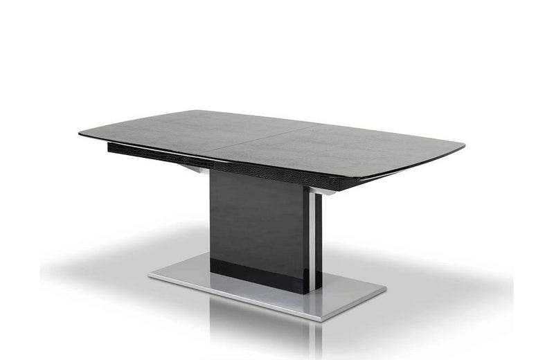 Centro Modern Dining Table Black