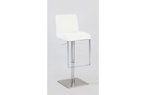 Serenity Pneumatic Swivel Stool White