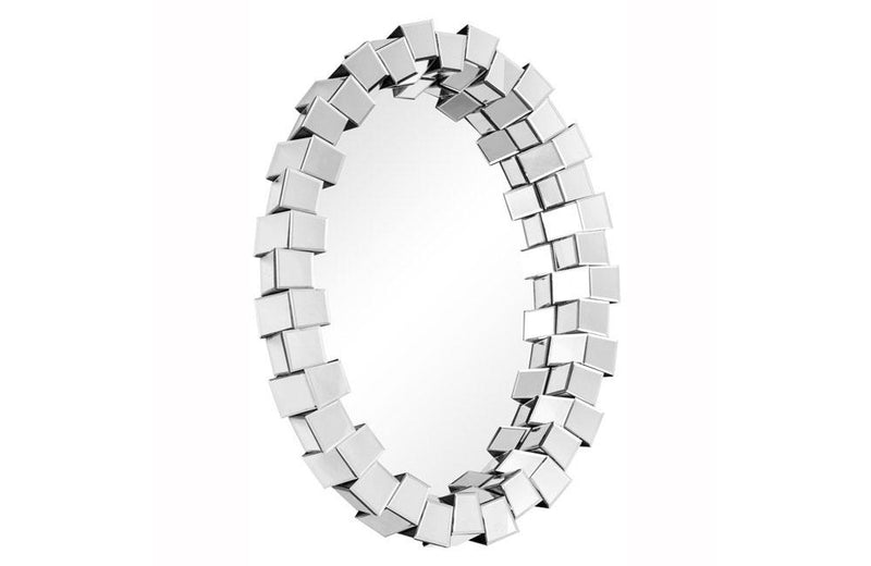 Contemporary Mirror Oval