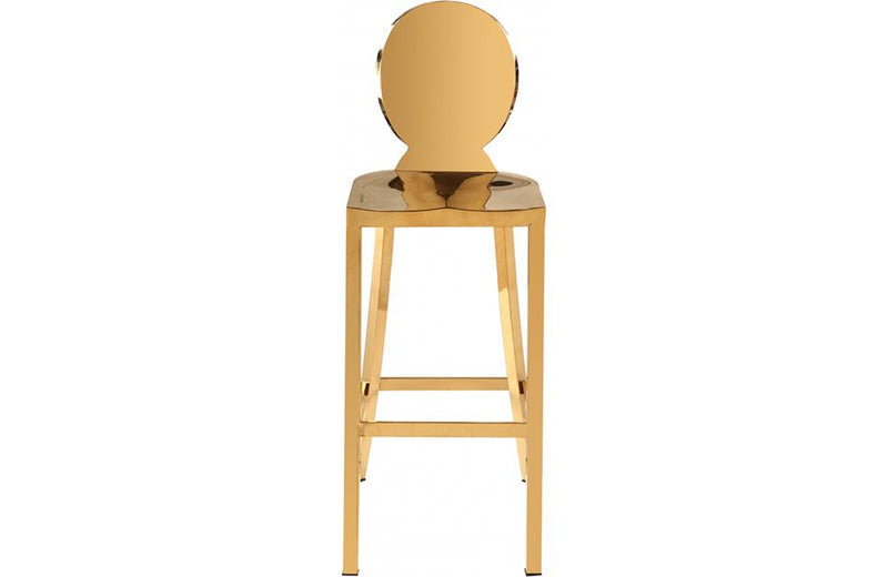 Cable Gold Bar Stool