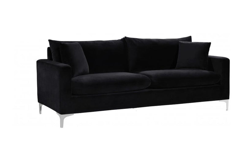 Dottie Chrome Black sofa