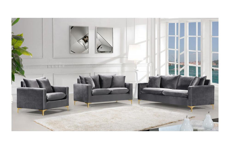 Dottie Gold Grey sofa set