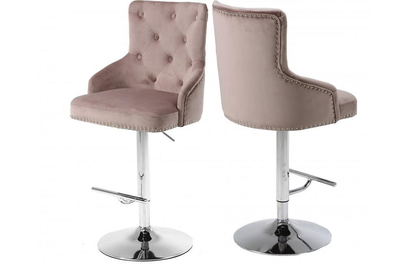 Caerleon Pink Bar Stool