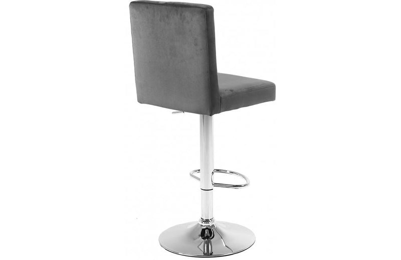 Abejundio Grey Bar Stool