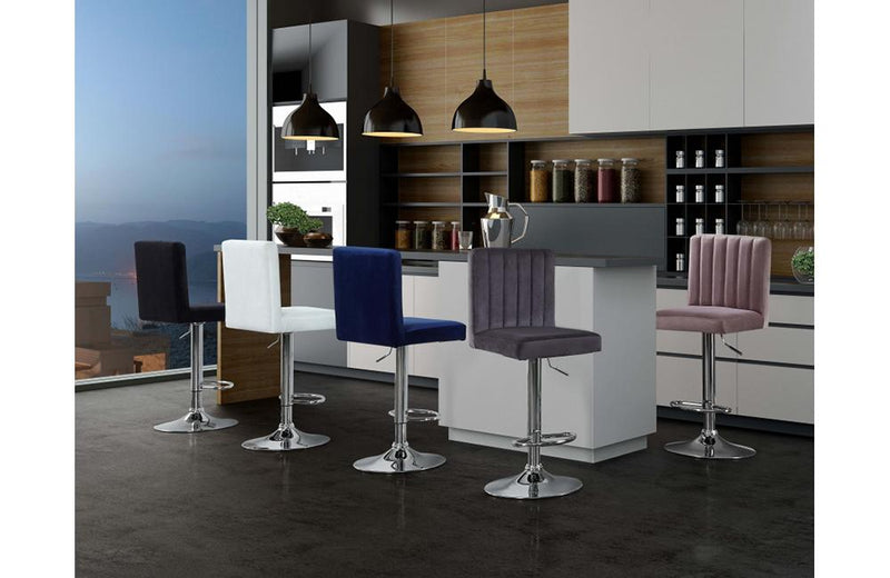 Abequa Black Bar Stool