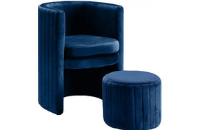 Janet Navy Chair