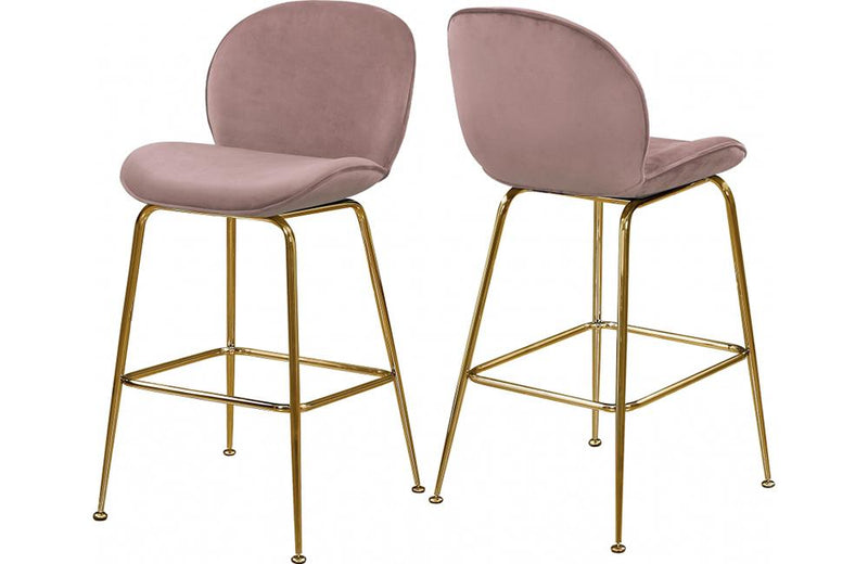 Babak Pink Bar Stool