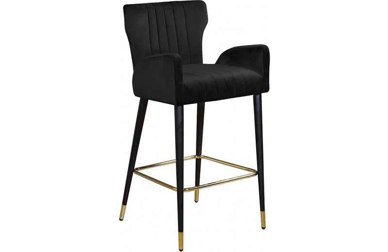 Bacchus Black Bar Stool