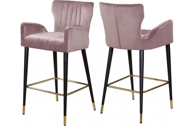 Bacchus Pink Bar Stool