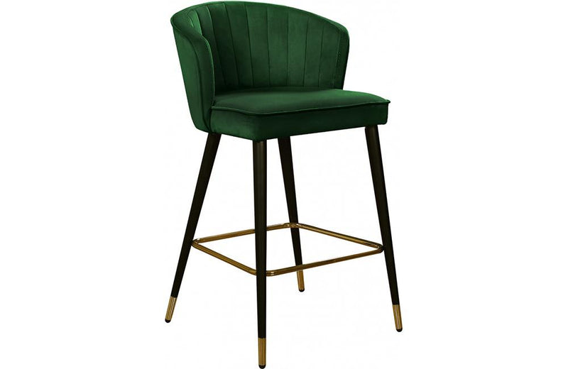 Bairbre Green Bar Stool