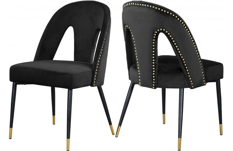 Aada Black Dining Chair
