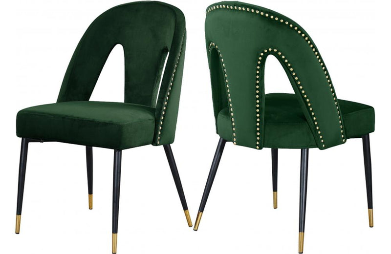 Aada Green Dining Chair